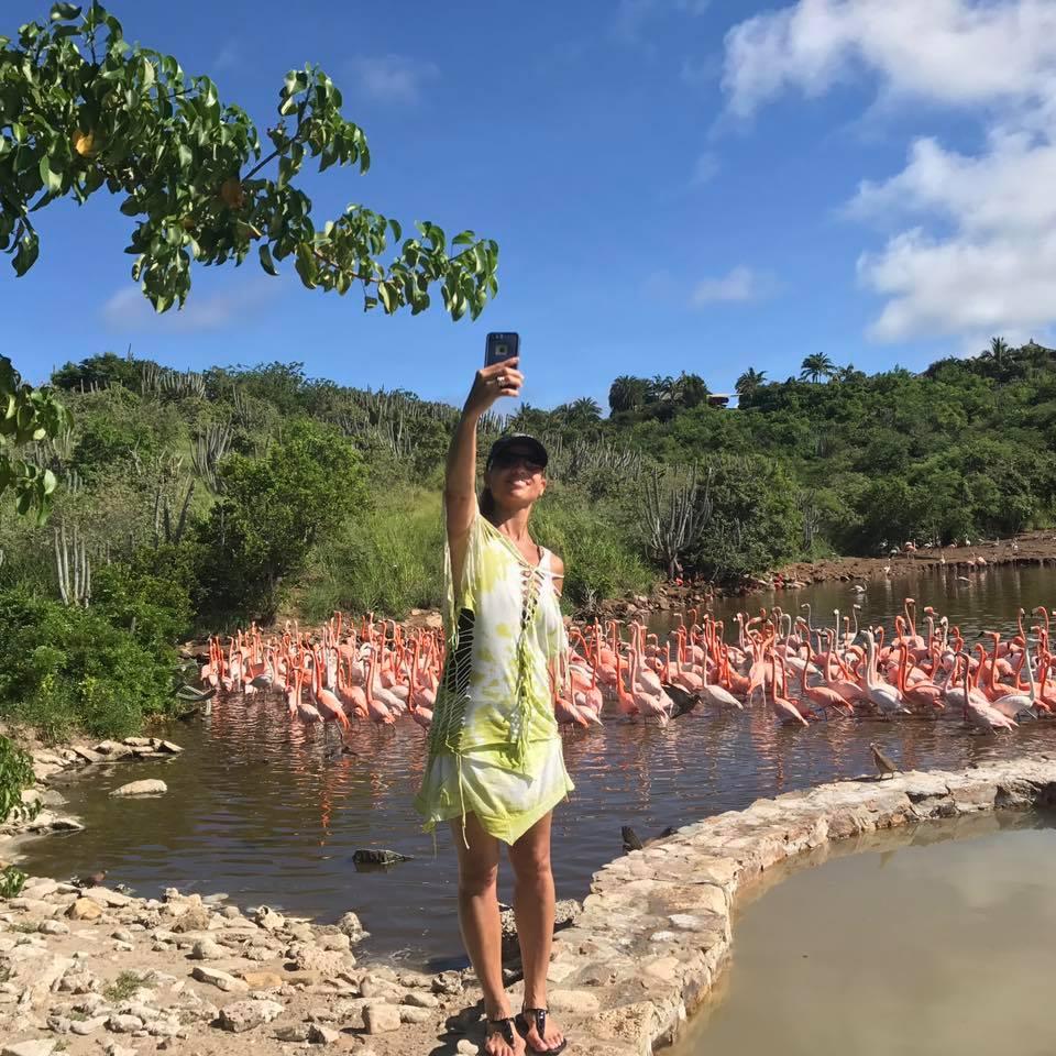 flamingo_selfie