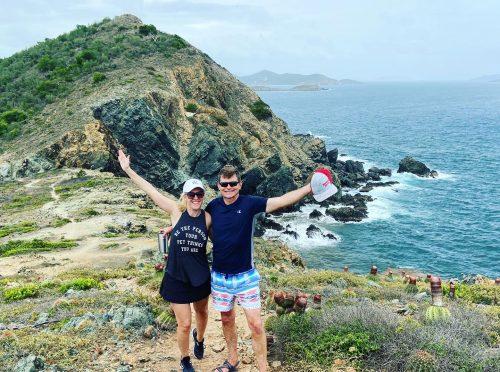 Catamaran_Rapscallion_St. Croix_buck_island_hike