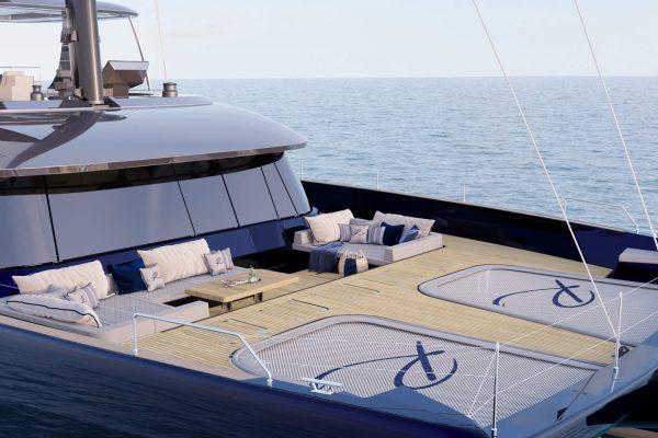Catamaran_RelentlessII_foredeck_lounge
