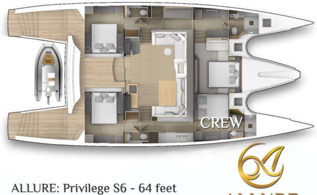 catamaran_allure_layout