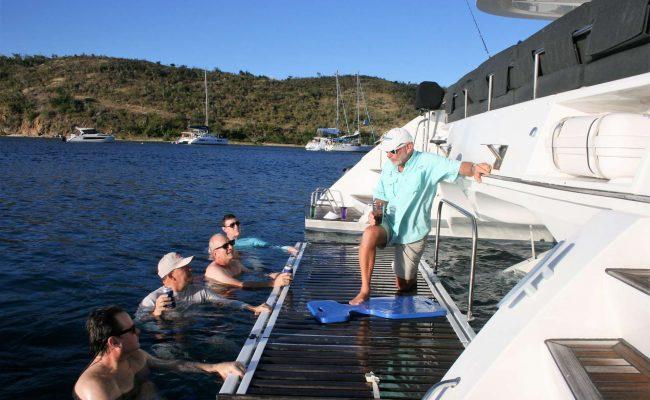 catamaran_eclipse_swim_platform_lift