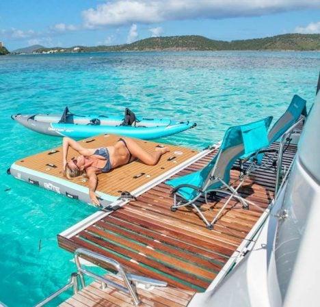 catamaran_karma_swim_platform